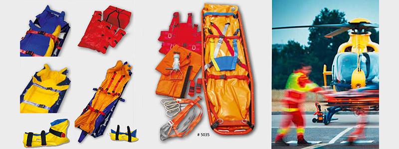 משטח ואקום לקיבוע מטופל בעת חילוץ והצלה