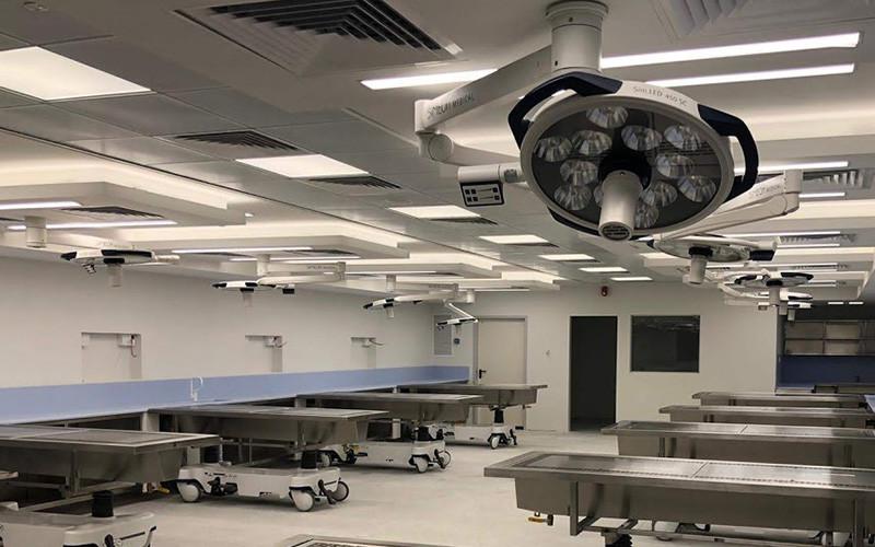 מנורות ניתוח לד בטכניון