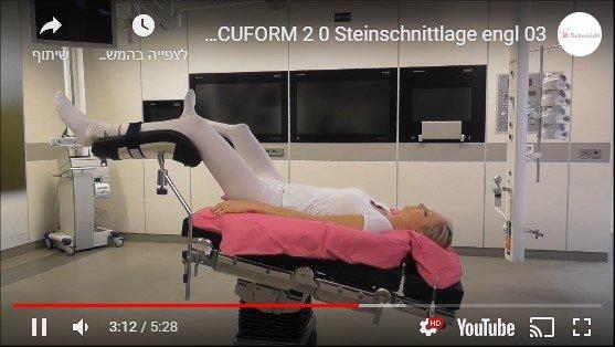 וידאו להדגמת השכבה לניתוח גניקולוגי