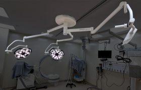 מרפאה וטרינרית, Sim.Led450+Sim.Led500 ומנשא מסך