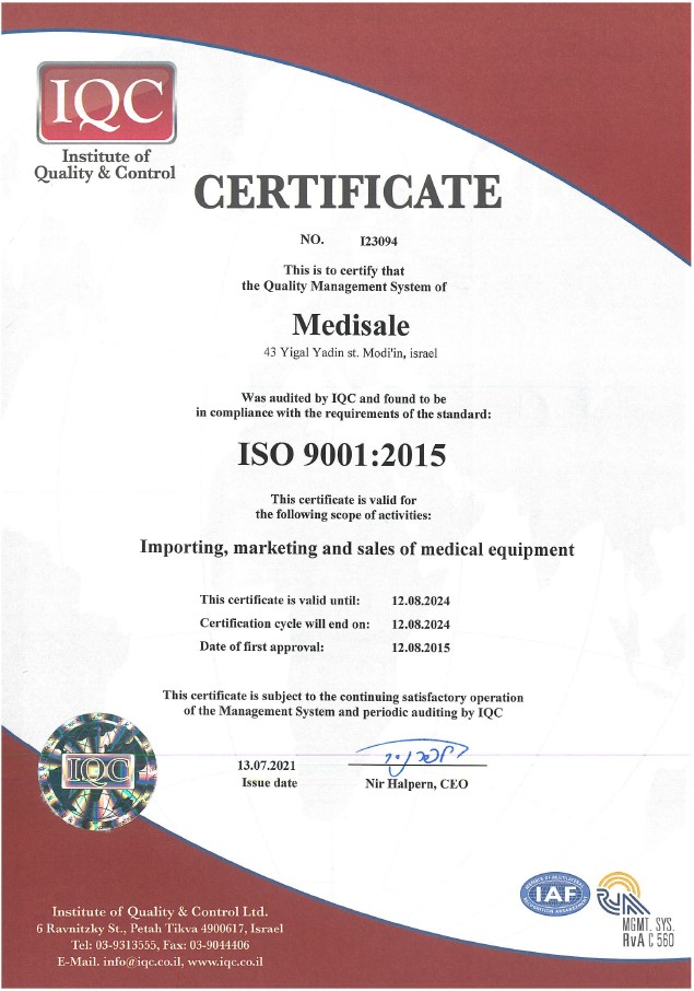 Medisale_Iso9001